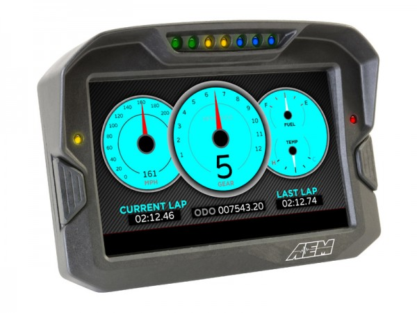 AEM CD-7 Carbon Digital Racing Dash Display GPS 30-5702