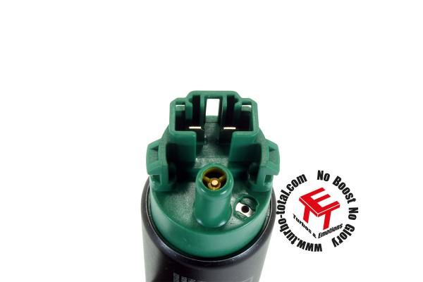 AEM 320lph E85 High Flow Kraftstoffpumpe mit Haken und Versetztem Einlass 50-1215