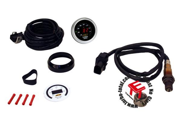 AEM Digital Breitband O2 AFR UEGO Kontrollinstrument 30-4110