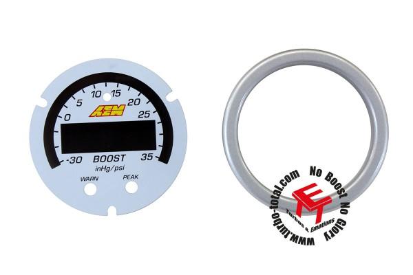 AEM X-Series 2.5 Bar Ladedruckanzeige Zubehör Kit 30-0306-ACC