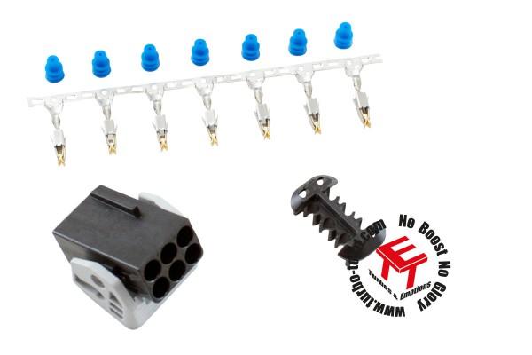 AEM Stecker-Buchse Kit für Breitband Sonde LSU 4.2 UEGO Bosch 35-2613
