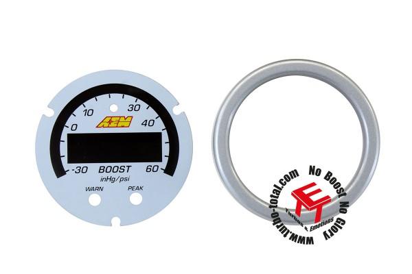 AEM X-Series 4 Bar Ladedruckanzeige Zubehör Kit 30-0308-ACC