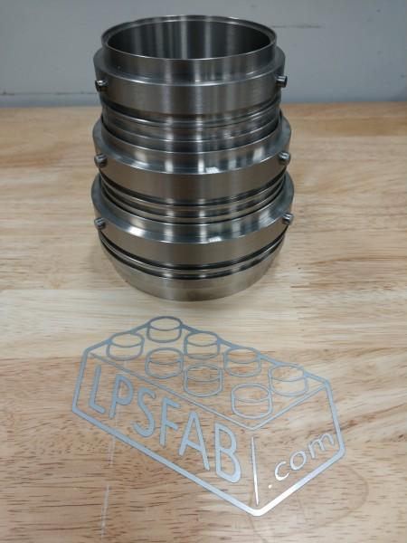 "LPS ALPHALOC 3.0"" 76mm Titan Anschweißring Männchen"