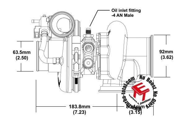 EFR 6758-F(V) Turbolader 11589880035