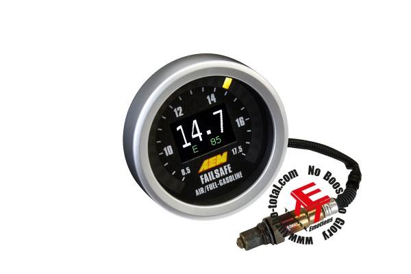 AEM Flex Fuel Breitband Failsafe Instrument ohne F/F Sensor 30-4910