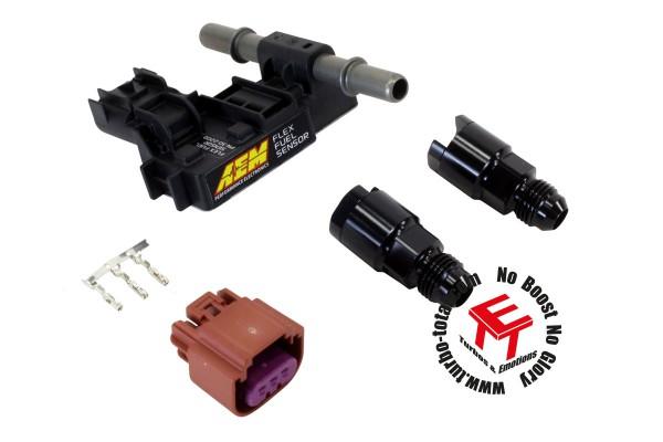 AEM Ethanolgehalt Flex-Fuel-Sensor Kit 30-2201 mit -6 AN Anschlüssen