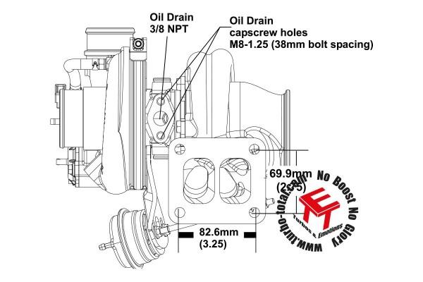 EFR 7163-G Turbolader B1 Frame 11639880002