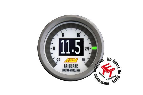 AEM Breitband und Vakuum/Ladedruck Failsafe Instrument 30-4900