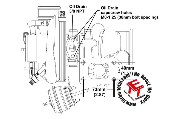 EFR 7163-F Turbolader B1 Frame 11639880005