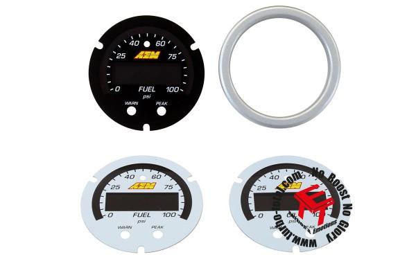 AEM X-Series Öl und Benzindruckanzeige Zubehör Kit 30-0301-ACC