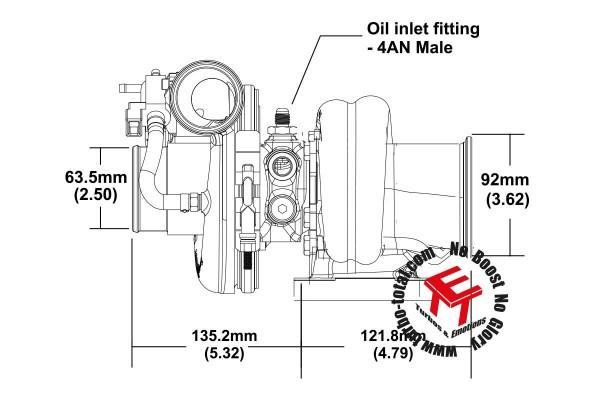 EFR 7064-B Turbolader B2 Frame 179355
