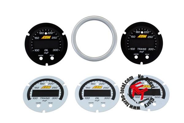 AEM X-Series Wasser- Getriebe- und Öltemperaturanzeige Zubehör Kit 30-0302-ACC
