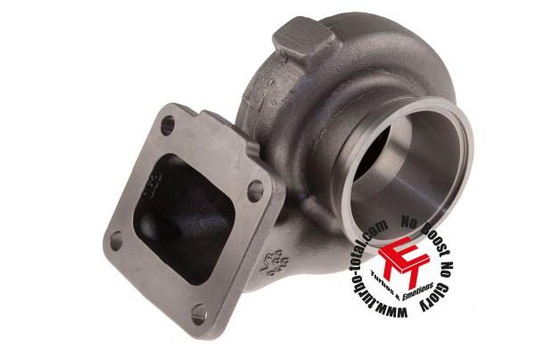 Turbinengehäuse GT35/GTX35 - 0.63 A/R - T4 Eingang / V-Band Ausgang 740902-0018