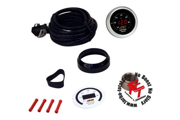 AEM Digital Breitband O2 AFR UEGO Kontrollinstrument ohne Sonde 30-4110NS