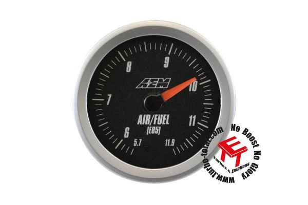 AEM Analog Style E85 Breitband O2 AFR UEGO Kontrollinstrument 30-5143