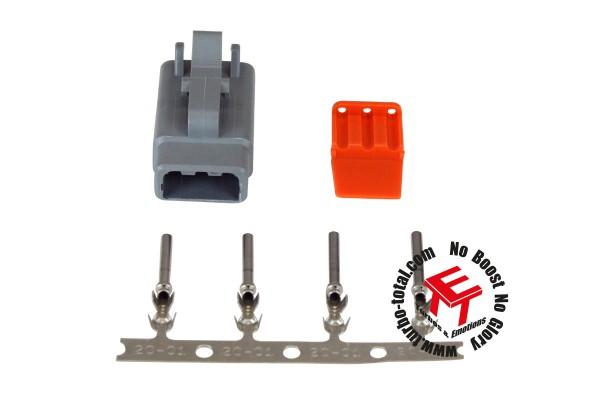 AEM 3-poliger DTM-Style Stecker Kit 35-2621
