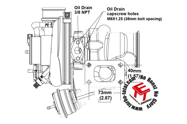 EFR 6758-A Turbolader B1 Frame 179388