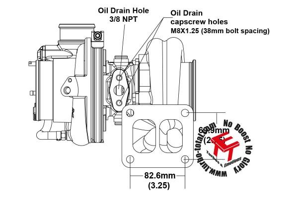 EFR 7064-D Turbolader B2 Frame 179391