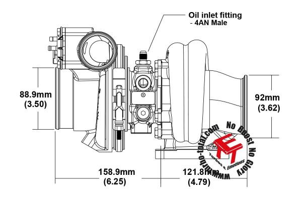 EFR 7064-C Turbolader B2 Frame 179389