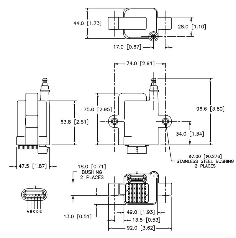 AEM High Output IGBT Zündspule 30-2853 | TurboTotal GmbH