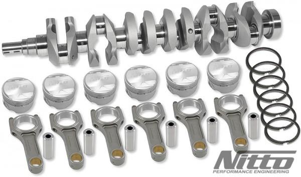 Nitto Stroker Kit Nissan RB26 2.7L 75,7mm Hub X 87.0mm Bohrung