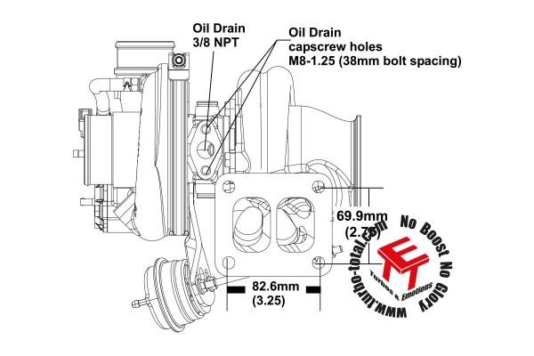 EFR 6258-G Turbolader B1 Frame 11589880036