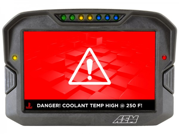 AEM CD-7 Carbon Digital Racing Dash Display Logger 30-5701