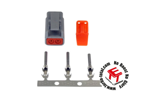 DTM-Style 2-Way Plug Connector Kit.