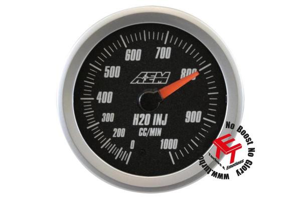AEM Analog 1000cc Wasser/Methanol Flow Anzeige 30-5142