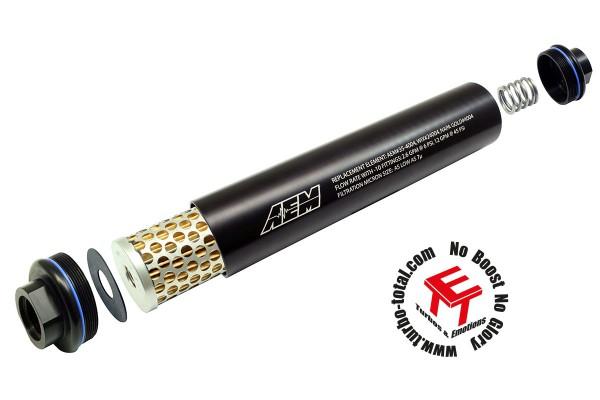 AEM Universal -10 AN Kraftstofffilter 25-201BK