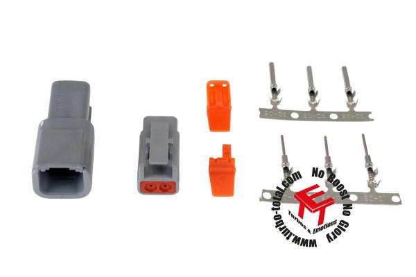 AEM 2-poliger DTM-Style Verbindungs Kit 35-2620
