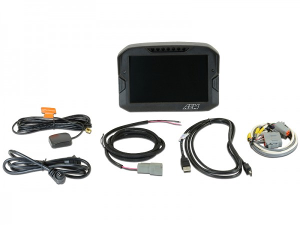 AEM CD-7 Carbon Digital Racing Dash Display GPS & Logger 30-5703