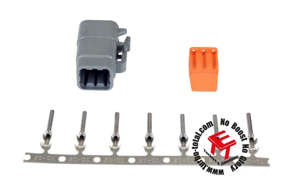 AEM 6-poliger DTM-Style Stecker Kit 35-2627